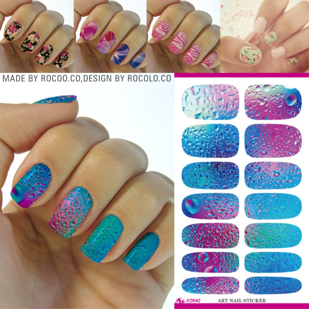 K5640-Fashion-font-b-Nail-b-font-Art-font-b-Stickers-b-font-Mysterious-Blue-Ocean