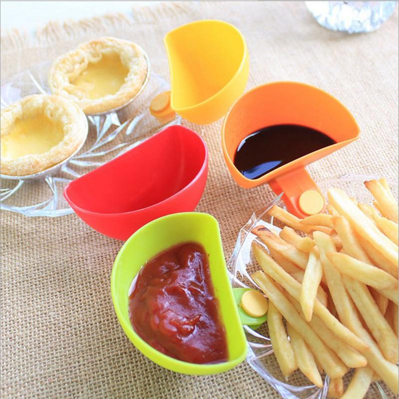4PCS-Salad-font-b-Sauce-b-font-font-b-Ketchup-b-font-Jam-Dip-Clip-Bowl