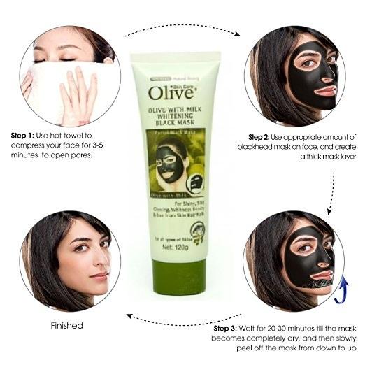 Original olive black mask in pakistan
