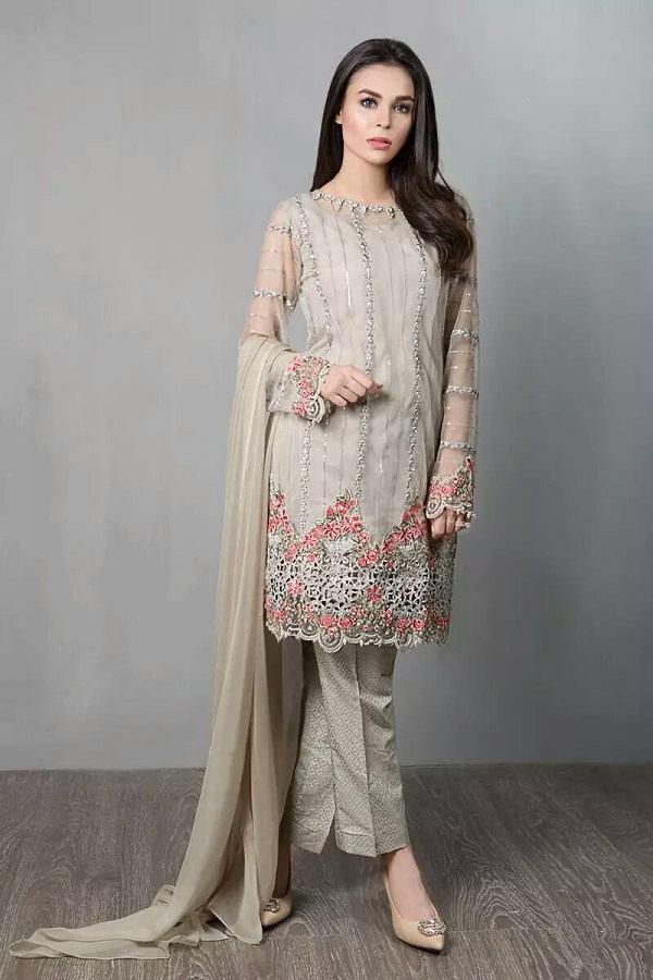 Pakistani Party Dresses 2018