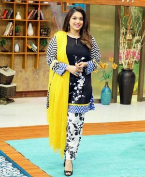 Maria b lawn collection with price in pakistan MARIA B LAWN FESTIVE COLLECTION UNSTITCHED 3 PIECE SUIT *sanam jung morning show 2018 dressing
