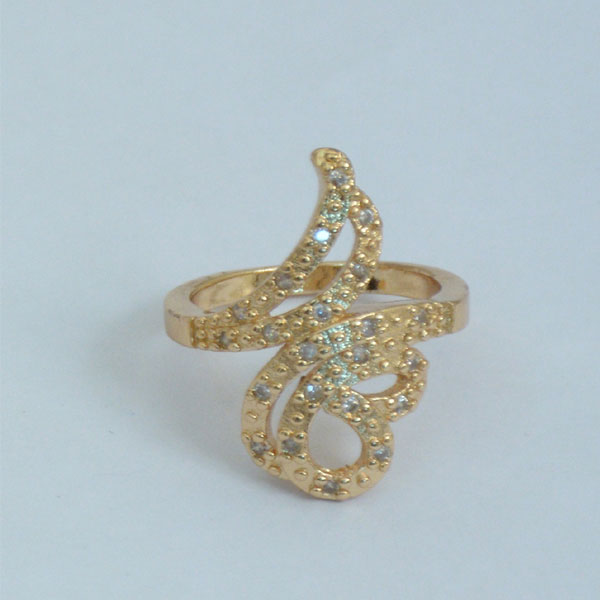 Different Style Gold Plated Ring