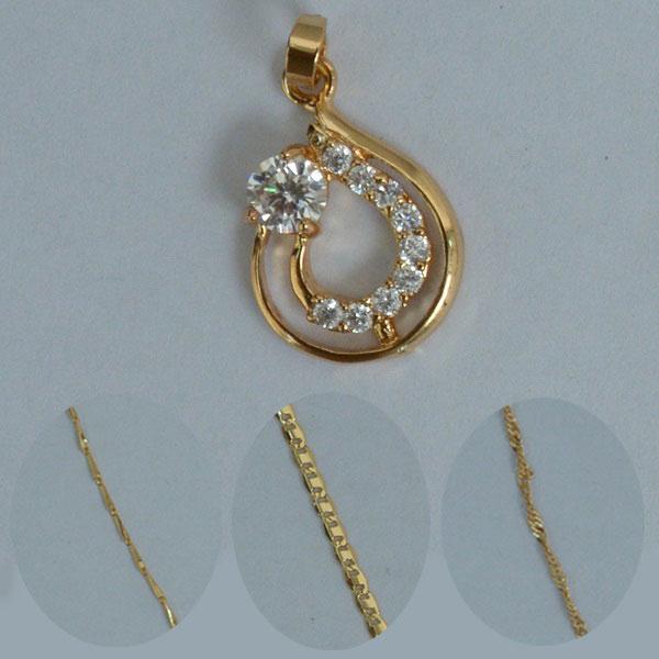 Double circle diamond golden locket online shopping in pakistan double circle diamond golden locket aloadofball Images
