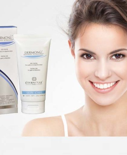 Pigmentation & Acne Scar Removal Treatment Cream from Mexico. Dermonu Facial Regeneration Cream is a treatment cream that visibly fades away fades acne scarring and other skin imperfections such as blackheads, pigmentation, dis-coloration & un-even skin tone to give you an even complexion that looks purer, dewy fresh and smooth. VISIBLE RESULTS IN JUST TWO WEEKS! Don´t let imperfections hide your beauty and affect your self-esteem, use the acne treatment to look gorgeous. The Dermonu secret is to combine the most effective clinical ingredients to treat scars. Dermonu's active ingredients include Rosh Bush Oil (Rosa Mosqueta Oil). Its polyunsaturated fatty acids are clinically tested to regenerate and reconstruct damaged skin cells. Dermonu is a skin care cream that penetrates deep, removing the dead skin cells to reveal healthy new skin underneath, fading acne scarring and eliminating spots, birthmarks and blackheads. TREATS: • Acne & Pimple scars • Scars/Marks • Skin discoloration • Birthmarks • Black heads / Hot Spots • Pigmentation problems APPLICATION: Apply a thin layer over clean and dry face before going to bed. Apply over the areas with acne scars. Let the product work during the night and rinse next morning. EVIDENT RESULTS: Starting on the 6th week. Results are accumulative with continuous use. It is recommended to use for a minimum of 12 weeks. Features: • Non aggressive micro-peel • Deep cleaning for your skin • Reconstructs damaged skin • Hypoallergenic • Quick and easy to apply - works whilst you sleep • Restores the tone and texture of your skin • TRIPLE ACTION cleans and regenerates skin • Visible results in just 2 weeks • Works for any age WARNING: For external use Stop using if burning or rash appears Do not apply over irritated or damaged skin Avoid eye contact. If this occurs, rinse thoroughly.