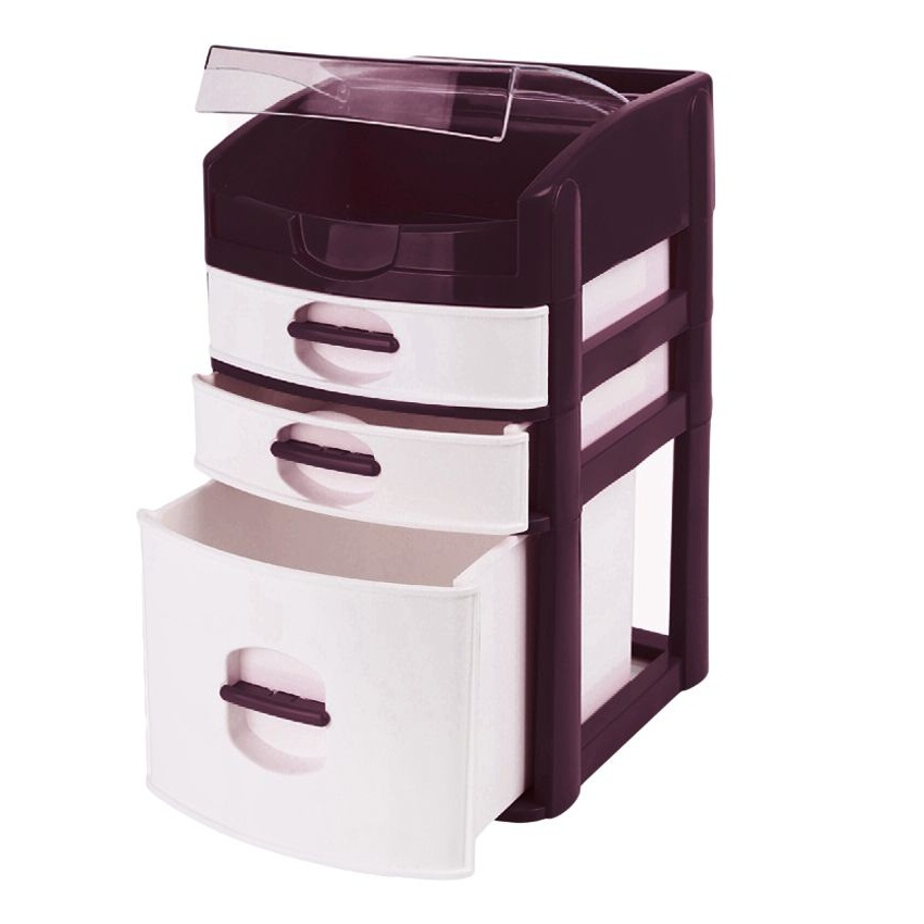 Desktop 3 Drawer Table Organizer Amp Make Up Jewelry