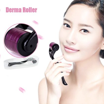 DRS Dermaroller for Skin Care Derma Roller system For Whole Body & Hairs. Derma Roller System is a scientific and all-inclusive device with multiple sizes and exchangeable heads with different needle count and sizes to use on face, neck, eyes and body. It works by prickling the skin and tricking it to renew skin cells by repairing itself which results in new collagen production. It is known to help with acne scars, spot marks, scar removal, stretch marks, cellulite, wrinkles, and hair loss and skin regeneration for more elastic skin. Key Features 1. Works on the stimulation of new collagen fibers as well as other vital skin cells 2. It doesn't harm or damage the epidermis 3. After treatment for Stretch Marks, Acne Scars Wrinkles etc, the skin becomes thicker and tighter Elasticity and bounce is restored and you a left with a healthy and youthful appearance 4. The Roller can be used to treat many skin related issues. 5. The one thing which most of them have in common, is a lack of collagen in the skin. Functions 1. Anti Aging 2. Fine Lines and Wrinkles Reduction 3. Stretch Mark Removal 4. Scar Treatment 5. Acne Scar Removal. Hair Regrowth* Why you choice DRS dermaroller kit? 1. Material of handle isPC + ABS + Medical Stainless. 2. Equipped soft silicone facial cleaning brush, use for face cleaning. 3. 12/300/720/1200 needles use for eyes, face, body and park of the area care 4. Self-contained disinfecting zone 5. Handle color available white&grey How to clean derma roller: 1. Before and after the skin needling treatment, please disinfect the dermaroller. 2. First pour some at least 75% alcohol in the dermaroller storage container or some other clean cup. The derma roller head should be all covered with the alcohol. Leave the roller in there for a while. Then, take it out, run hot water over it and allow the derma roller to air dry on paper towel. 3. After cleaning your dermaroller place it to storage box or container that is provided with the dermaroller. 4. You shou