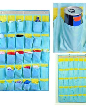 Wall Door Closet Organizer 30 Pockets Hanging Storage Bag Wall Door Closet Organizer 30 Pockets Hanging Storage Bag. Home Tidy Socks Scarf Gloves Wall Door Closet Organizer 30 Pockets Hanging Storage Bag Non Woven Pouch Multi functional Holder. KEY FEATURES     This home organizer bag with 30.  is a great help for you. 2. Ideally for holding your small pieces socks, scarf, gloves, tools, etc.  3. It is multi function to use, help to save space and easy to find them in daily life. 4. It is also a beautiful decoration for your house. bathroom organizer,storage bag,key holder wall