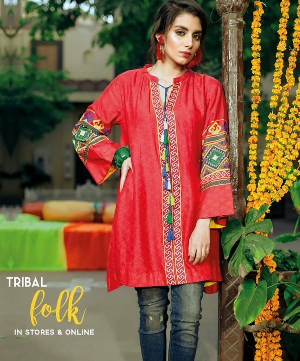 bbd9739f0373 Embroidered Lawn SUIT 3PCS