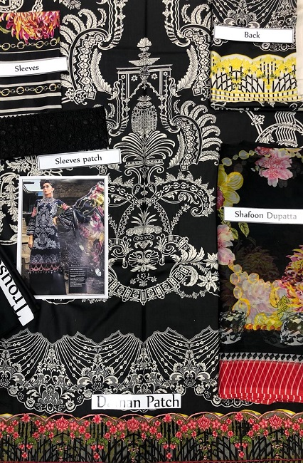 Maria b Linen Party Wear 2018 (4)