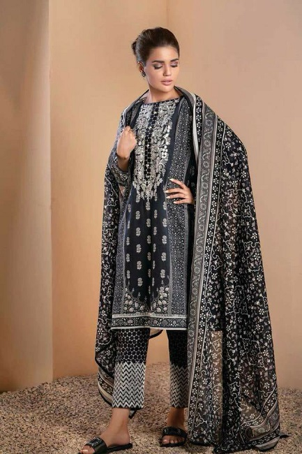 20a9343fb6 New Satrangi Linen 2018 | online shopping in pakistan