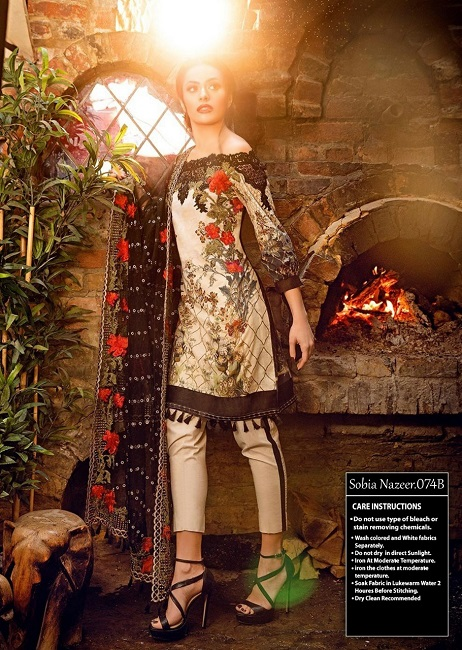 New Sobia Nazir Linen 2018 Collection Online Shopping In