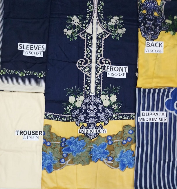 Sana Safinaz viscose LINEN Suit Collection For Women (3)