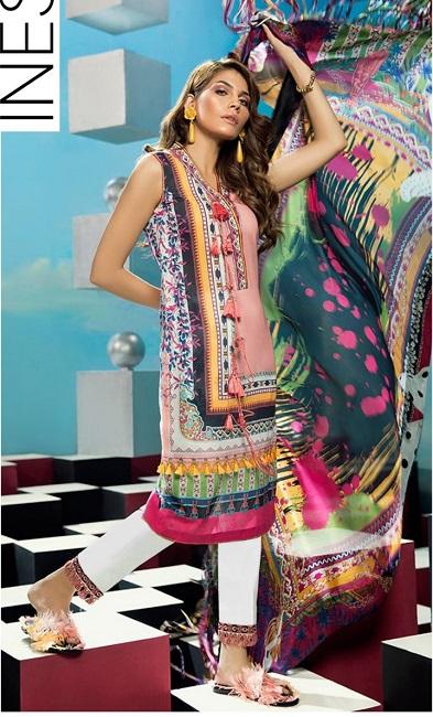 Zaha Viscose With Medium Slik Duppta Online Shopping In