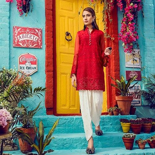 Maria B Lawn 2018 2pcs Online Shopping In Pakistan