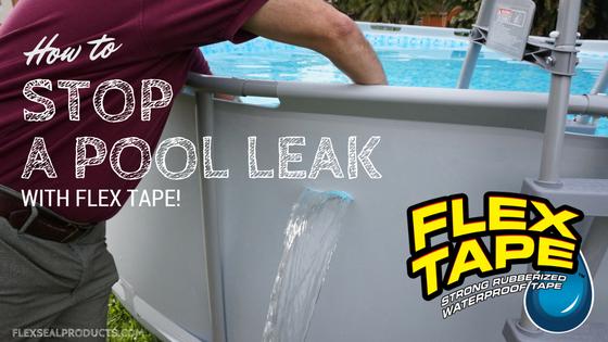 Flex Tape A Super Strong Rubberized Waterproof Tape