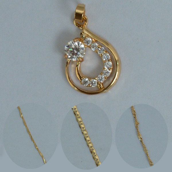 Double circle diamond golden locket online shopping in pakistan double circle diamond golden locket aloadofball Images