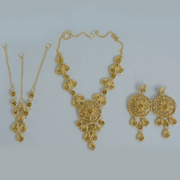 Gold Plated Bridal Set