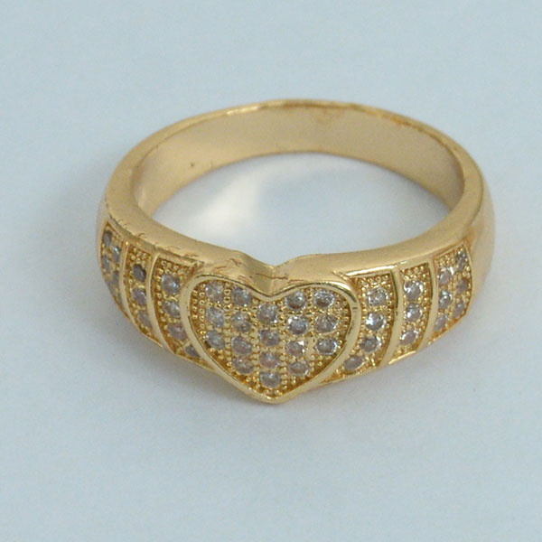 Gold Plated Heart Ring