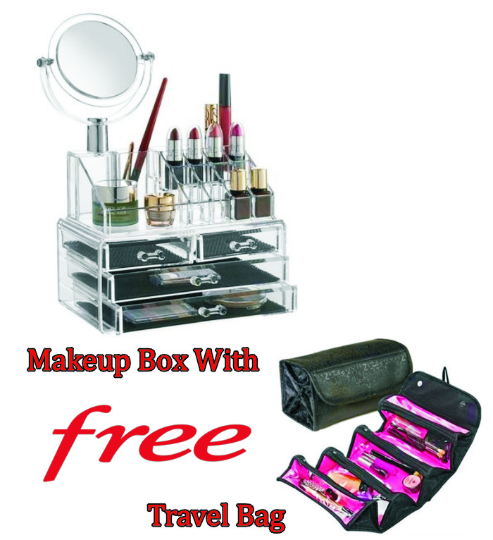 Makeup organizer bag online india