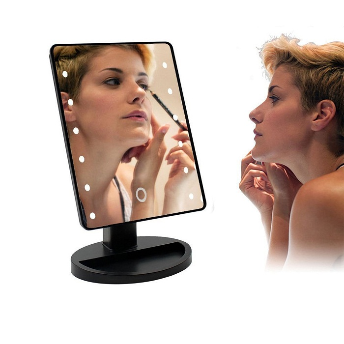 Led Lighted Vanity Modern Illuminated Makeup Amp Shaving Mirror
