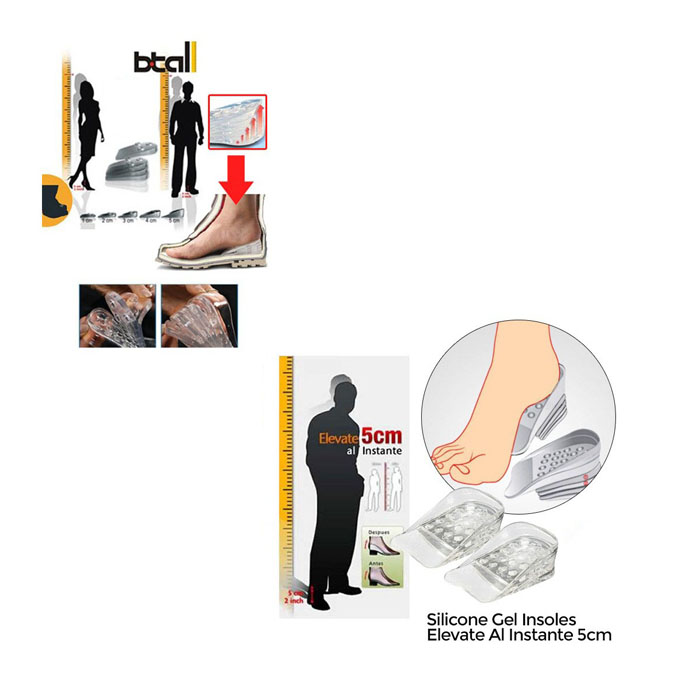 height increasing insoles cash on delivery