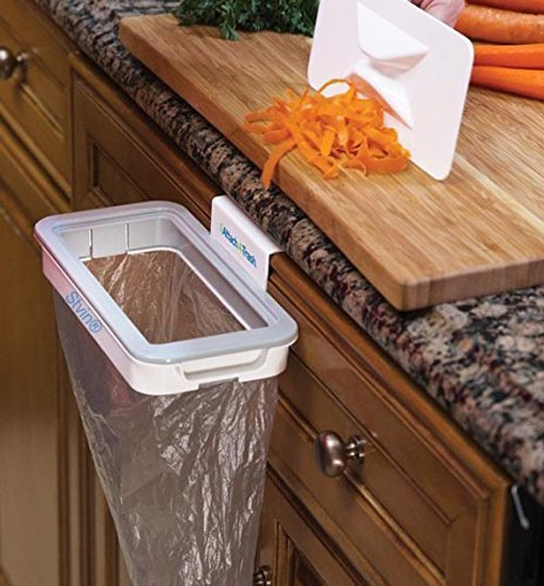 Attach A Trash The Hanging Trash Bag Holder Online