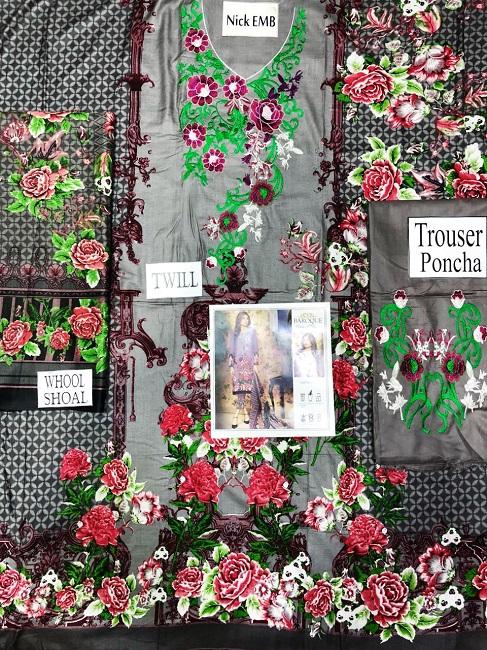 Baroque Twill linen Dress 2018 (3)