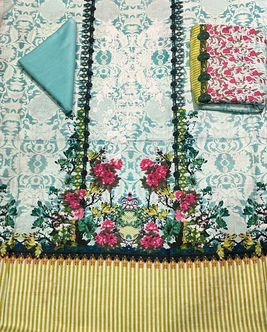 Baroque khaddar party wear dresses with prices (4)