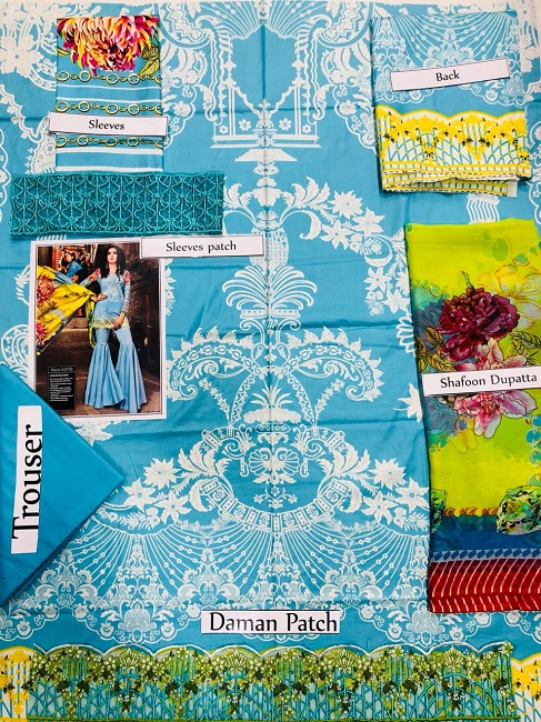 Maria b Linen Party Wear 2018 (3)