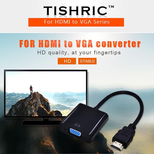 3in1 For Hdmi To Vga Cable Converter Online Shopping In Pakistan