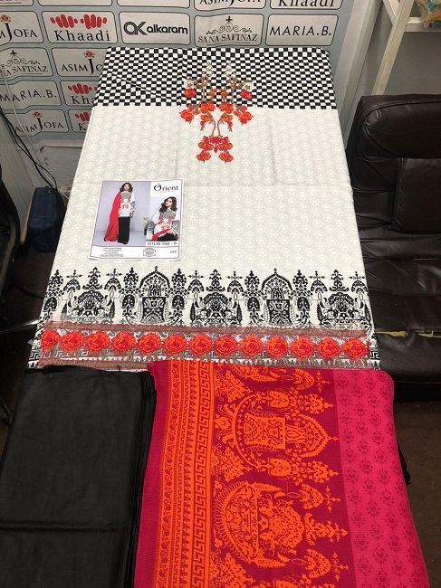 Orient Linen Fabrics 3pc 2018 Collection (3)