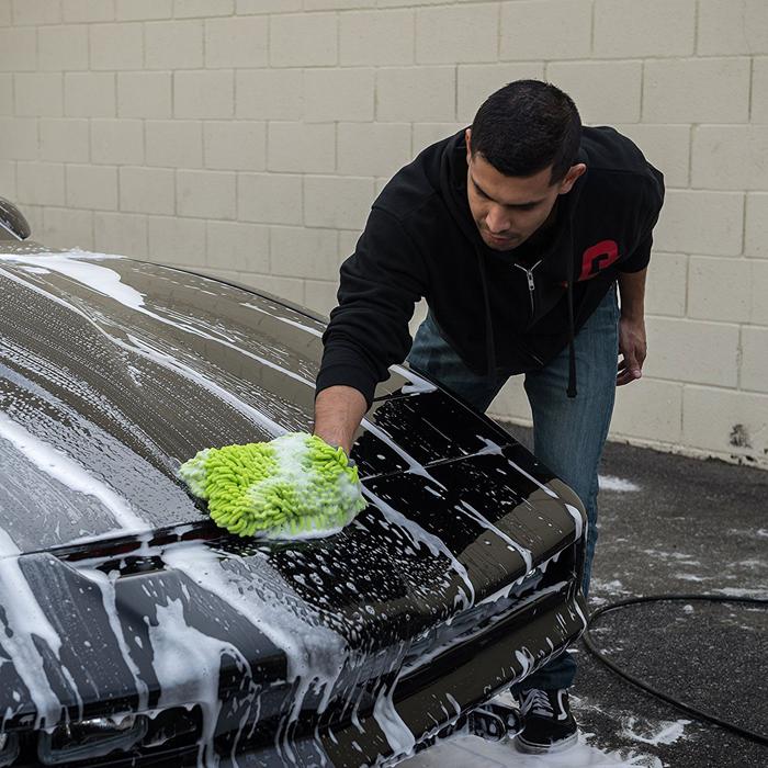 Microfiber Car / Bike Washing Cleaning Glove Mitt