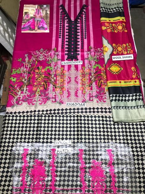 Charizma Soft khaddar collection 2019 (1)