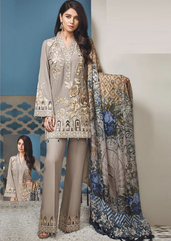 9c3b505913 Sana Safinaz Eid Lawn dresses 2018 | Online Shopping in Pakistan
