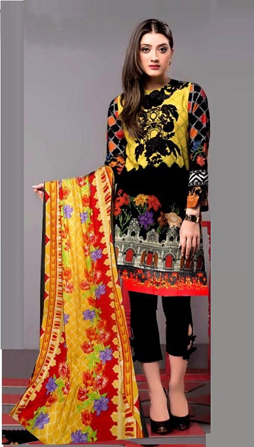 Gul Ahmed Eid Lawn Collection 2018 Online Shopping Pakistan