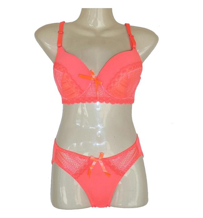cf90ce757 New European and American lace sexy bra Underwear Set
