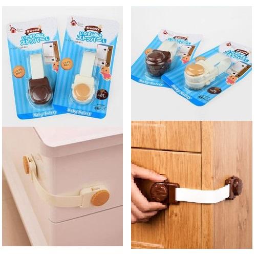Baby Safety Lock Latch For Drawer Kitchen Cupboard Fridge