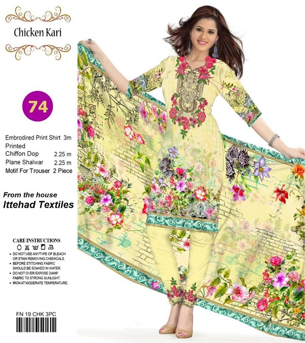 db9dcbaf3f All New Chiken Kari 3 Piece Lawn Suit 2019 | online shopping in pakistan