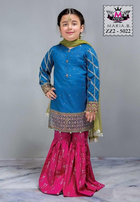 abfaae36e3 Maria B kids 2pcs Lawn Collection 2019 | online shopping in pakistan